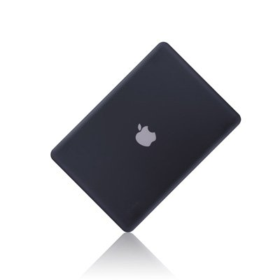 TopCase Rubberized Hard Case Cover for Macbook Pro