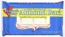 Plymouth Pantry, Almond Bark Vanilla, 24oz Bag (Pack of 3)