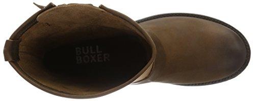 Bullboxer Boots, Botas Biker para Mujer marrón (Cognac)