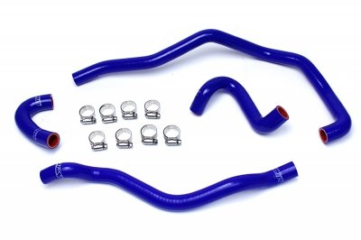 HPS 57-1487-BLUE Silicone Heater Hose Kit Coolant