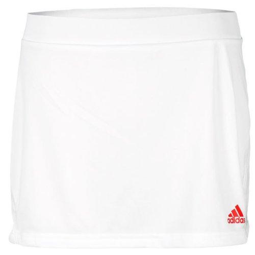 Adidas Girls ' Barricadeスカートホワイト/Core Energy Medium  B006RB66Z4