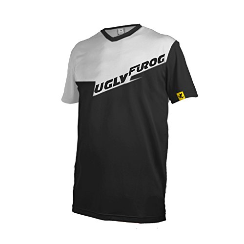 Uglyfrog #DX15 2017 New Outdoor Sports Cycling Short Sleeve BMX Bike Jersey Men Downhill Montain Bike - Georgetown Jersey Cycling