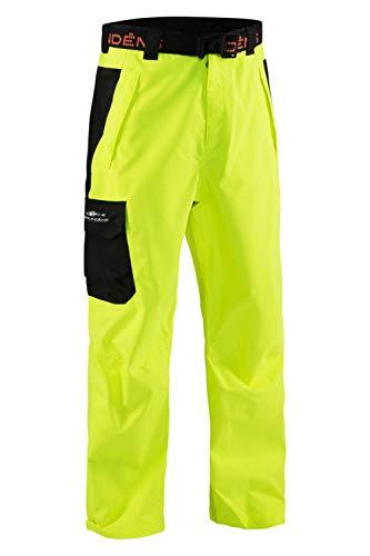 Grunden's Men's Gage Weather Watch Trouser, Hi Vis Yellow, XX-Large