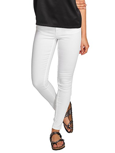 Jeans Slim Fit Iotto Ankle jeans Donna Bianco Pcpushup Pieces qUxf5pW5