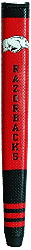 - Team Golf NCAA Arkansas Razorbacks Golf Putter Grip with Removable Gel Top Ball Marker, Durable Wide Grip & Easy to Control