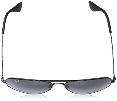Noir Lunettes de Ray 002 en 58 noir RB3558 soleil polarisé Ban T3 Black aviateur 5qffR76w