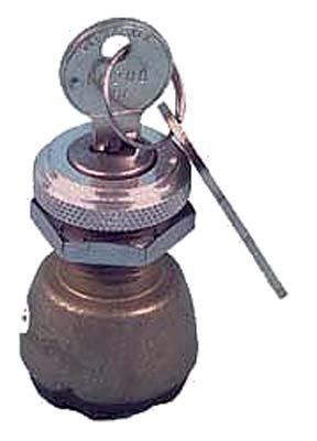 Club Car DS Electric Golf Cart 76-83.5 Ignition Key Switch (2 FREE KEYS) 2-prong