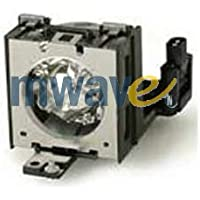 Mwave Lamp for SHARP PG-B10S Projector Replacement with Housing