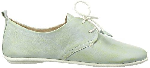 Pikolinos Kvinnor Snör Åt Upp Läder Oxfordskor (917-7123kr) Grön