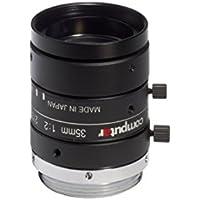 Computar M3520-MPW2 2/3 35.0mm F2.0 C-Mount Lens w/ Locking Iris & Focus, 5 Megapixel, Ultra Low Distortion