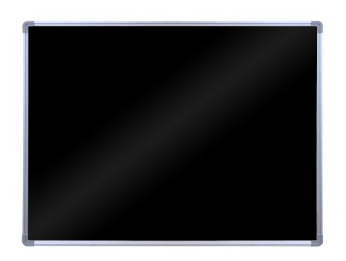 LUXOR BW4030M Wall Mount Black Board, 30'' H x 40'' W x 2'' D by Luxor