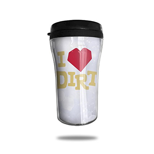 Love Dirt Coffee Cup Personalized Travel - Blake Glasses Lively