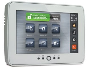 Dsc Keypads (DSC PTK5507 PowerSeries TouchScreen Security Interface, 7 Inch display)