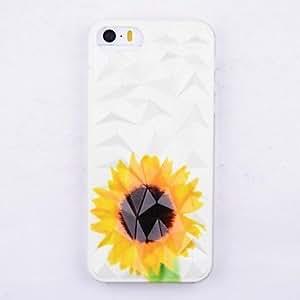 JJESunflower Pattern Hard Back Case Cover for iPhone 5/5S