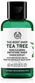 The Body Shop Tea Tree Skin Clearing Mattifying Toner, Made with Tea Tree Oil, 100% Vegan, 2.0 Fl. Oz