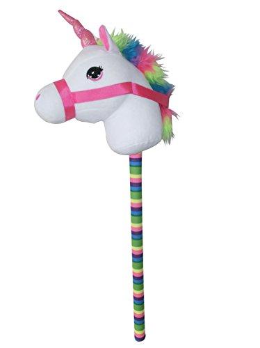 (Ponyland White Unicorn 68 cm Stick Horse with Sound)
