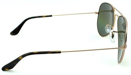 e081049006abd ... Ray-Ban RB3025 Aviator Large Metal Polarized Unisex Sunglasses (Metallic  Light Bronze Frame  ...