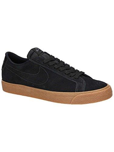 NIKE Men's SB Zoom Blazer Low Black/Black Anthracite Skate Shoe 11.5 Men US (Nike New Blazer)