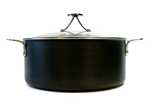 Tyler Florence 6 Quart Steel Clad Dutch Oven with Lid by Tyler Florence's Vita Craft Cookware