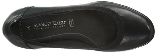 Marco Tozzi Premio 22418, Zapatos de Tacón para Mujer Negro (BLACK ANT.COMB 096)