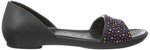 Black Crocs 35 EU Multi 34 Negro Bailarinas 204361 Mujer p0FnwFHIq
