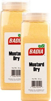 Badia Mustard Dry 16 oz Pack of 2