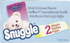 Diversey 2979929.0 Snuggle Dryer Sheets for Vending