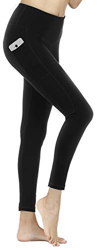 LifeSky High Waist Yoga Pants with Pockets Tummy Control Workout Pants Womens' Active Leggings with Stylish Design
