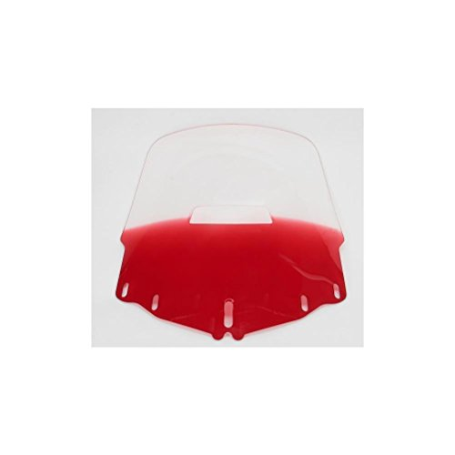 Memphis Shades Gold Wing 1800 Tall Vented Windshield - Gradient Ruby (Vented Windshield Tall)