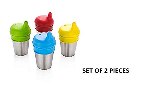 Zafos Healthy Sprouts Silicone Sippy Lids - Lab Tested,