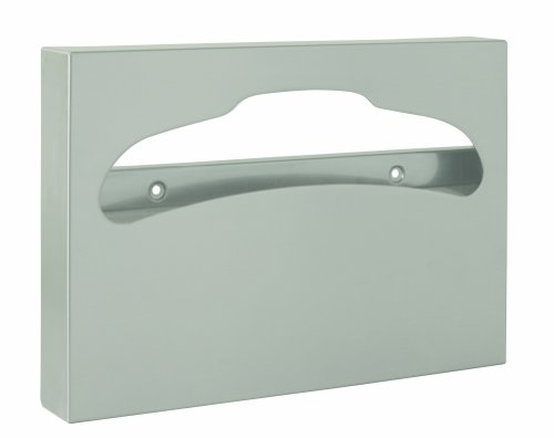 Surface Mounted Seat Cover Dispenser (Bradley 5831-000000 Stainless Steel Surface Mounted Toilet Seat Cover Dispenser, 250 Capacity, 15-3/4