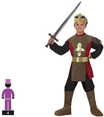 Atosa-95578 Caballero Medieval Disfraz Rey, Color Dorado, 3 A 4 ...