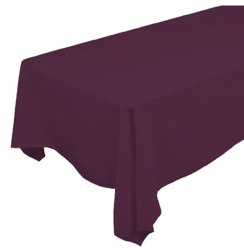 A-1-Tablecloth-Company-Rectangular-72-Inch-by-120-Inch-Poly-Table-Cloth-Claret-Case-of-10