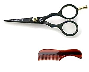 Professional Moustache Beard Trimming Scissors, Extremely Sharp from Sanguine Scissors