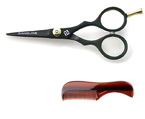 Beard Trimming Scissors - Professional Moustache Scissors, Beard Trimming Scissors, Extremely Sharp 5