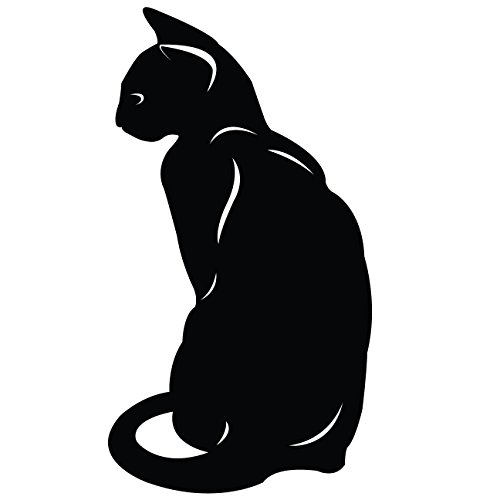 Cat Wall Decal Sticker 25 - Decal Stickers and Mural