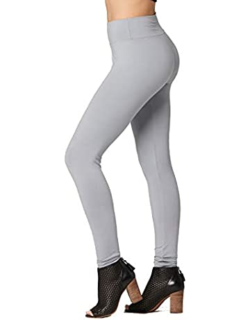 58ae442414cc Premium Ultra Soft Yoga Waistband Leggings - Regular and Plus Size - Full  and Capri Length