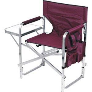 Ming's Mark Inc Director's Chair Folding Burgundy SL-1204 (Mings Mark Directors Chair)