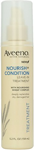 AVEENO ACTIVE NATURALS Nourish+Condition Leave-In Treatment 5.20 oz (Pack of 6) by Aveeno