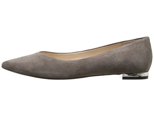 Marc Fisher - Mocasines para mujer gris ante