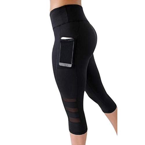 Yoga Athletic Pants Cleance, TOTOD Women Workout Out Pocket Leggings - Fitness Sports Gym Running Pants