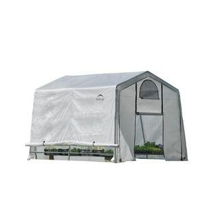 10 X 8 Greenhouse (GREENHOUSE-IN-A-BOX EASY FLOW featuring SIDE VENTS 10 x 10 x 8 ft. 3 x 3 x 2,4 m)