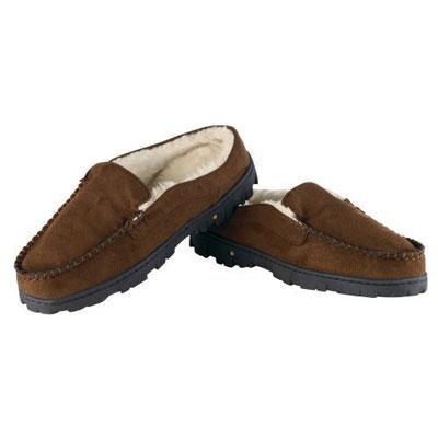 Conair Men's Massaging Slippers, Brown