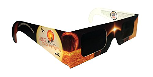 5 Pack Premium Iso And Ce Certified Lunt Solar Eclipse Glasses