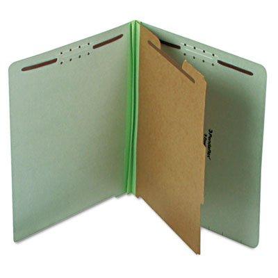(Pendaflexamp;reg; Extra-Hvy Pressboard Classification Folders, Letter, 4-Section, 10 per Box)