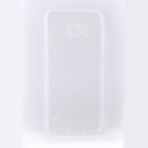 Tellur TLL118831 - Carcasa de silicona para Samsung S7 Edge, Transparente Blanco transparente