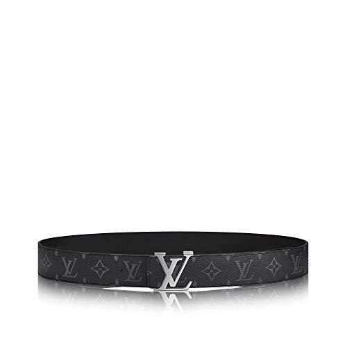 [해외]Louis Vuitton Eclipse Canvas LV Initiales 40mm Reversible Belt / Louis Vuitton Eclipse Canvas LV Initiales 40mm Reversible Belt (120 cm)