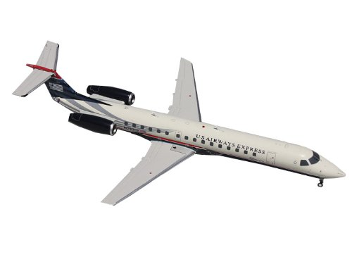 Gemini Jets US Airways Express ERJ-145 Diecast Aircraft, 1:200 Scale