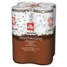 Illy Issimo Mochaccino Coffee Drink, 8.45 Ounce - 4 per pack -- 6 packs per case.