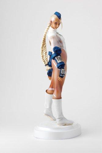 3157ZE37EEL Street Fighter Zero 3 Cammy Authentic White Ver PVC Statue 1/6 Scale